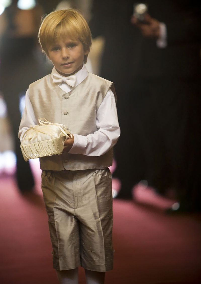 Ring Bearer with Sweet Sip