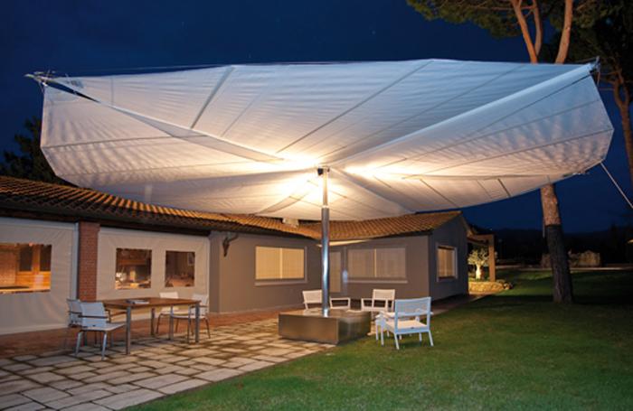 Modern-sail-design-for-contemporary-patio-design - PATIO UMBRELLAS : Sandra Espinet