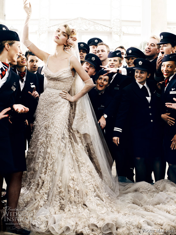 Eliesaabweddingdressmariotestino Posted by Sandra Espinet at 084300
