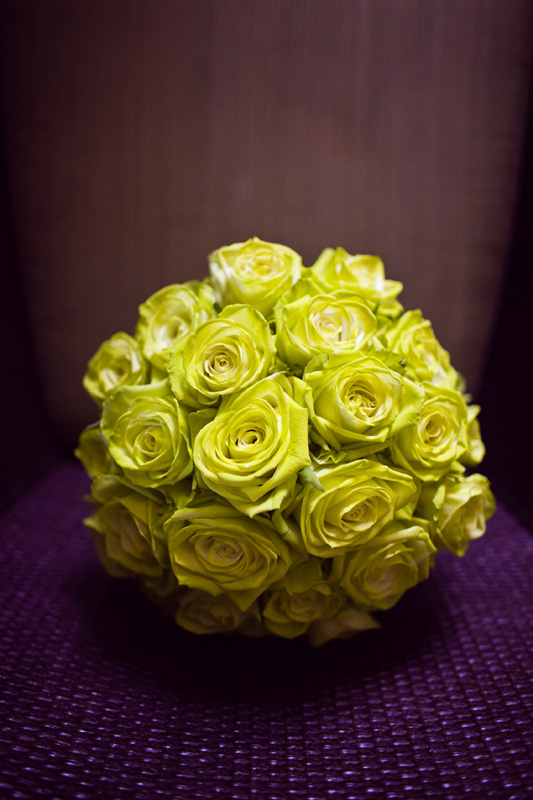 Chartreuse-rose-bouquet