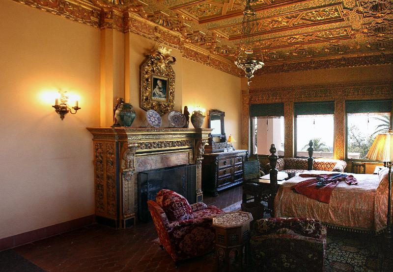 Hearst Castle - Guest Bedroom