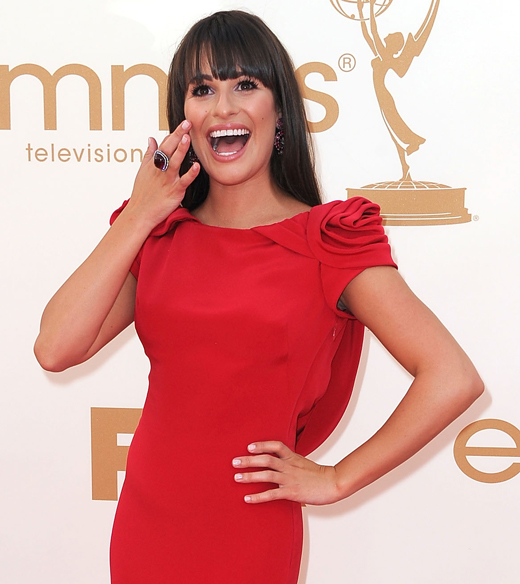 Lea-michele-red-marchesa-dress-emmy-2011
