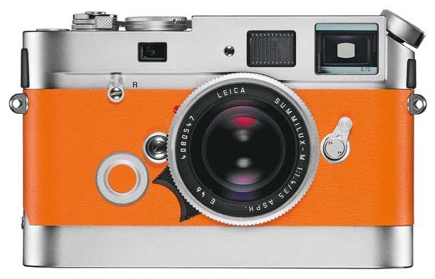 Leica-hermes-orange-m7-rangefinder