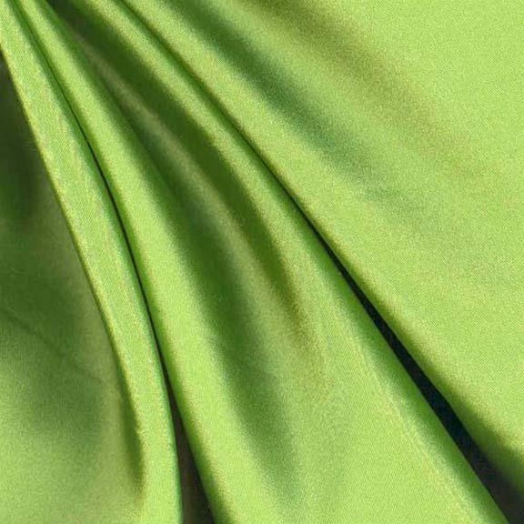Chartreuse-green-satin
