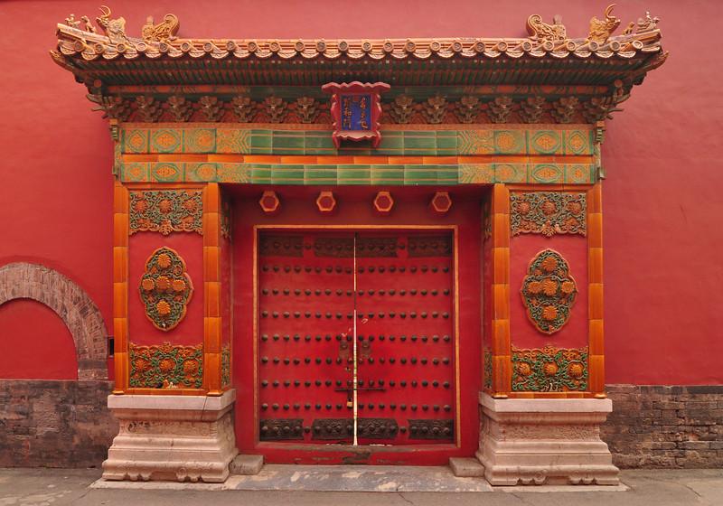 Red Chinese Doors : Sandra Espinet