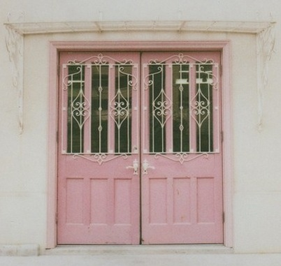 Beautiful-old-pink-doors