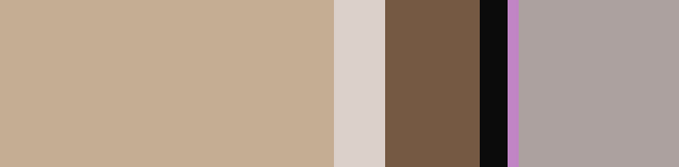 Color Palette Beige Gray Cream Chocolate Brown Living