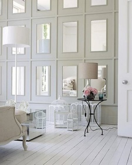 All White Room all white room - home design