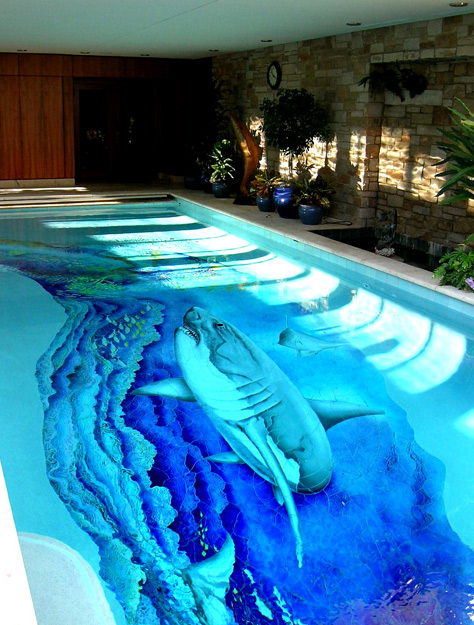 Shark-swimming-pool-design-and-uniqueness