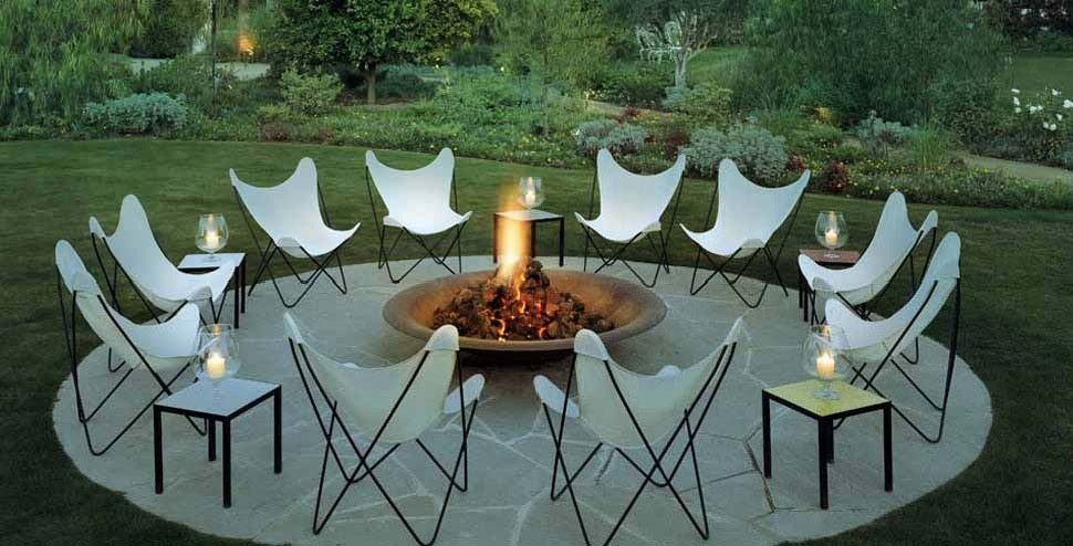 Outdoor Fire Pit Areas Sandra Espinet