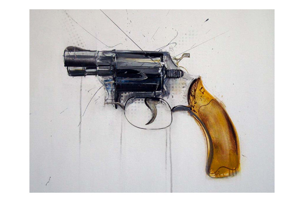 Dave-white-gun-painting-1