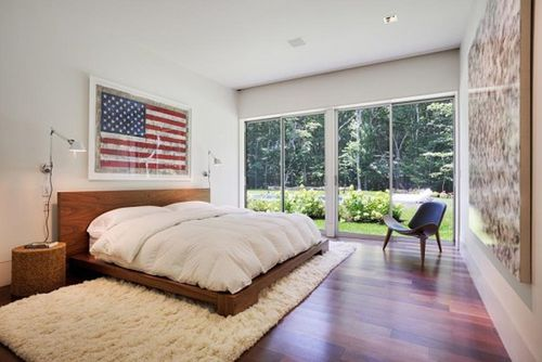 Decoratingwithflags_headboard