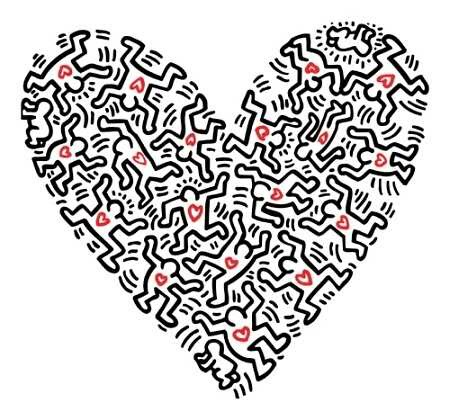 Haring-keith-heart-of-figures-21007
