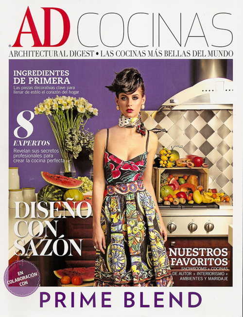Architectural Digest March cover