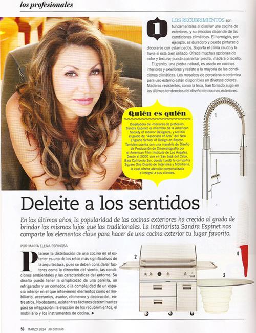 Architectural Digest Sandra Espinet